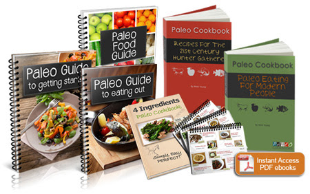 Paleo cookbook cover image
