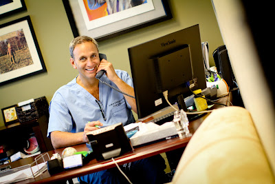 Dr. Holzman enjoys it when patients ask long, detailed questions on his nightly phone calls.