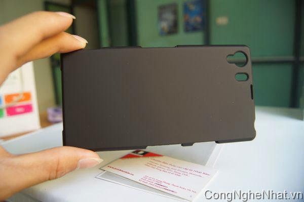 Ốp lưng Sony Xperia Z1 (SO-01F) phủ cao su