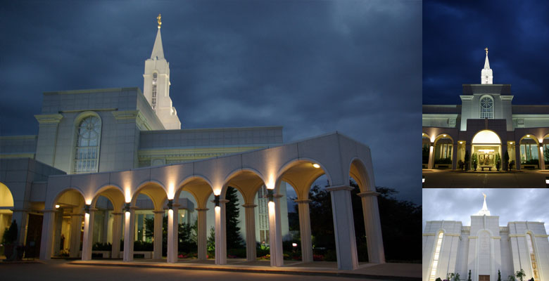 Bountiful Utah Temple, July 7, 2011