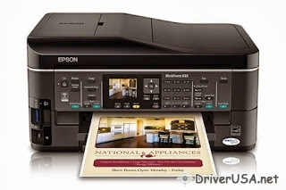 download Epson WorkForce 633 printer's driver