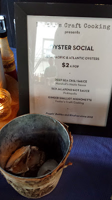 Oyster Social a pop up to go with Beer!