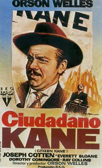 Ciudadano Kane, cartel