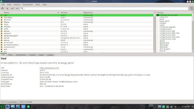 Linuxed - Exploring Linux distros: Manjaro Linux 0 8 10 KDE