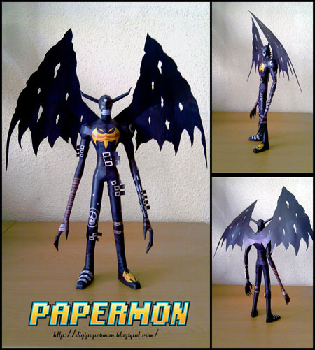 Digimon Devimon Papercraft