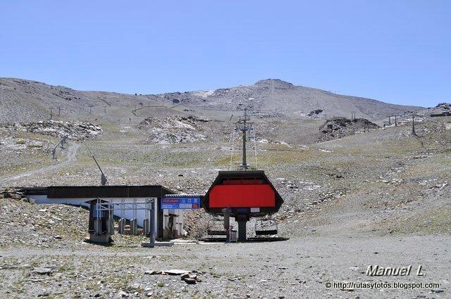 Subida al Veleta desde Pradollano