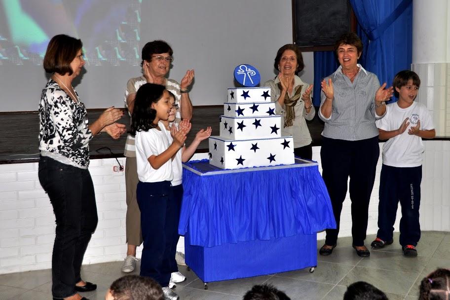 Aniversário de 45 anos – Infantil ao 9º ano – Unidade I – 2011
