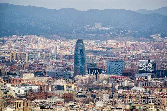 Barselona manzarası