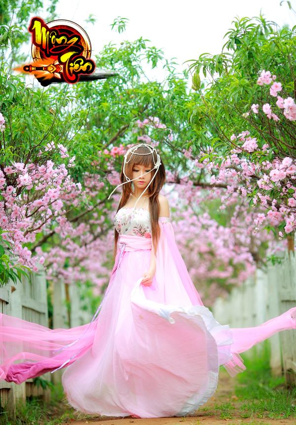 Chibi Bunny tung cosplay Mộng Tiên tuyệt đẹp 4