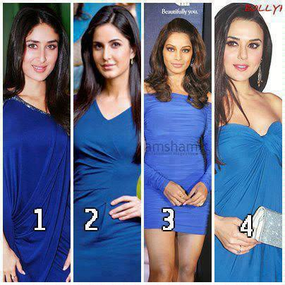 Who Looks Hot in Blue..??