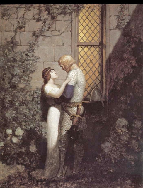 N. C. Wyeth - Tristram and Isolde.