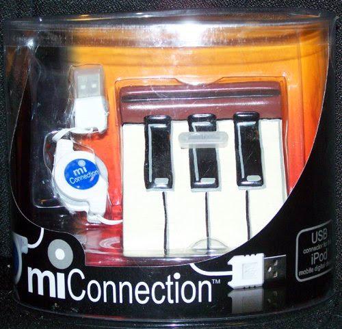 MIConnection iPod Docking Station - Ebony  &  Ivory