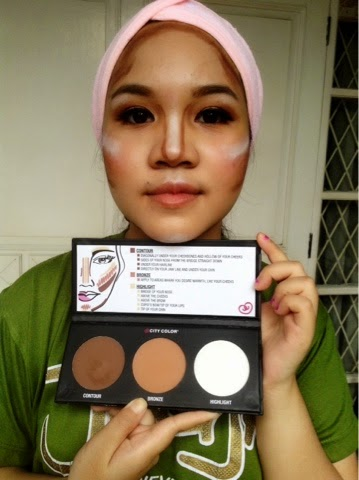 Discover Beauty With Putri Highlight And Contour Shading