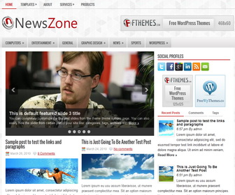 NewsZone – by Fthemes