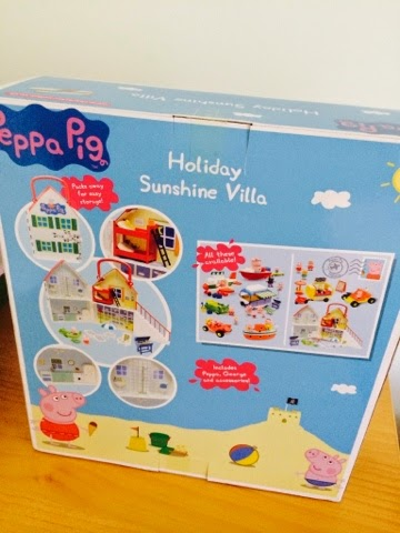 Emma in Bromley - Peppa Pig Holiday Time Sunshine Villa