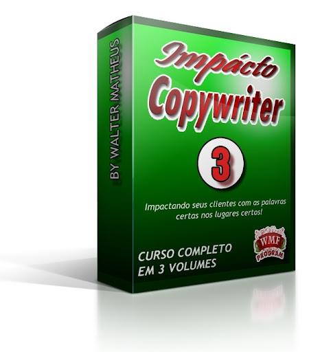 Curso Impácto Copywriter Completo 3 Volumes