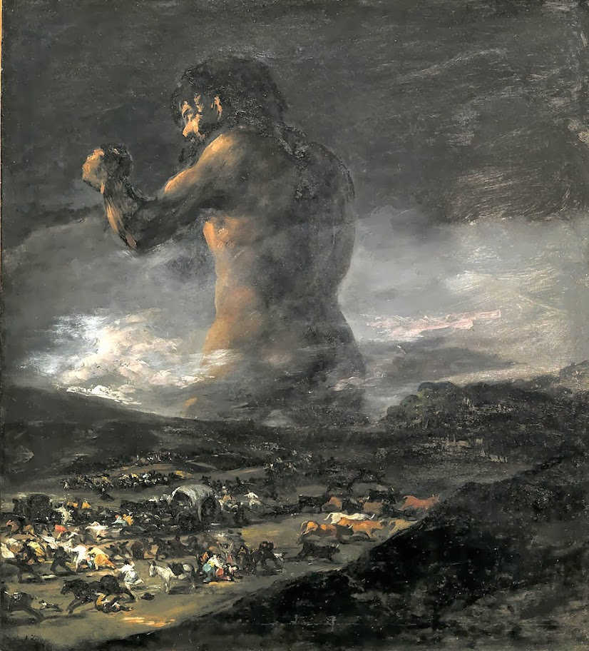 Francisco Goya - The Colossus, 1812