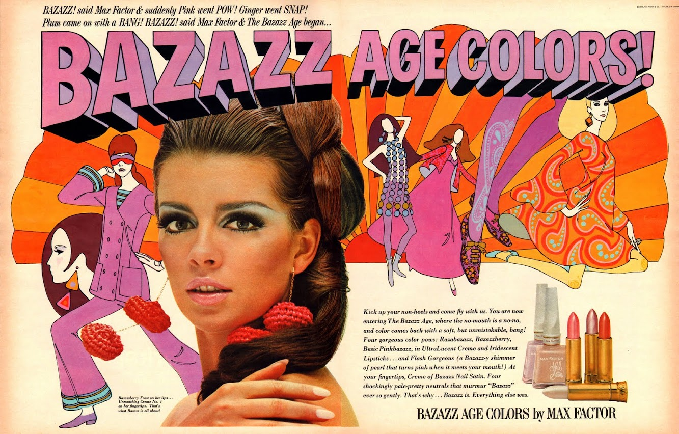 Bazazz by Max Factor, 1966