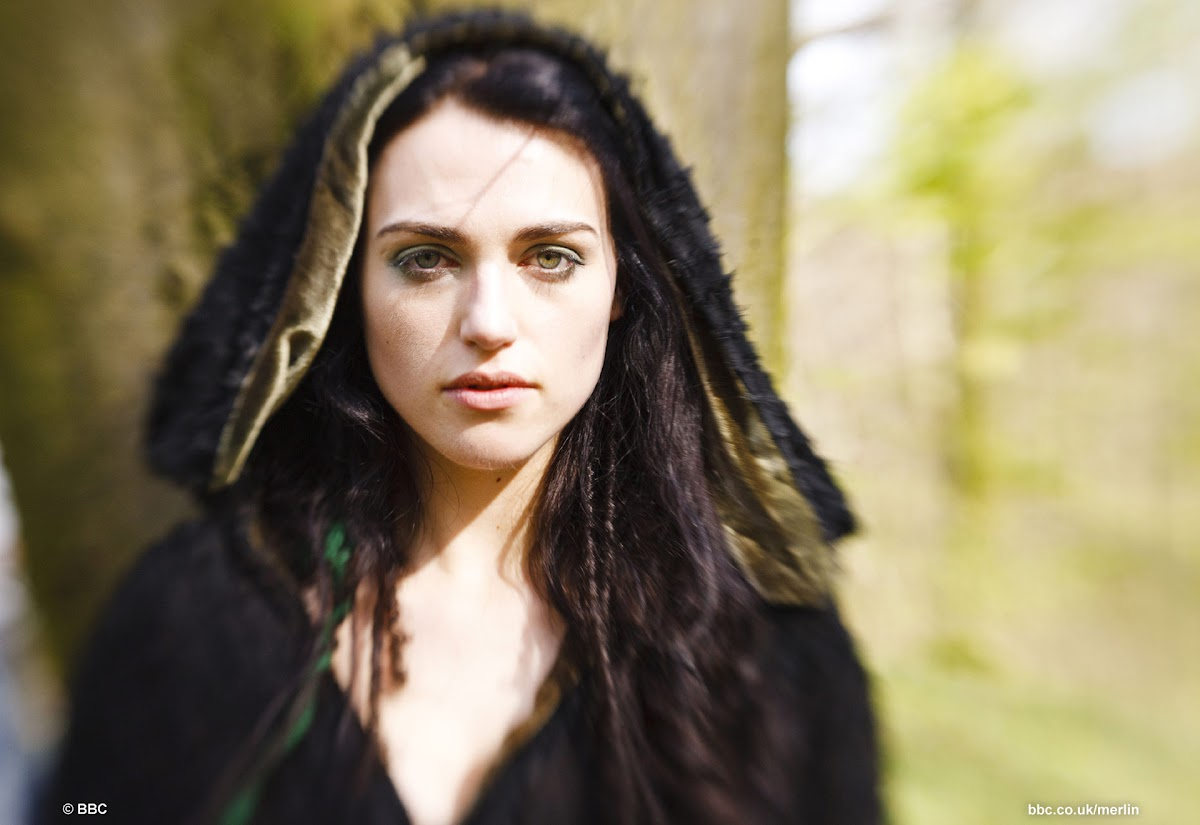 BBC Merlin Katie McGrath as Morgana The Darkest Hour