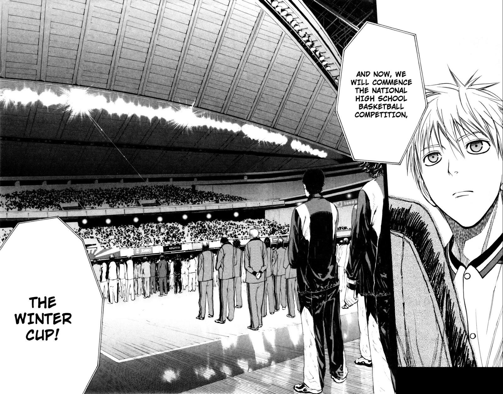 Kuroko no Basket Manga Chapter 112 - Image 18-19