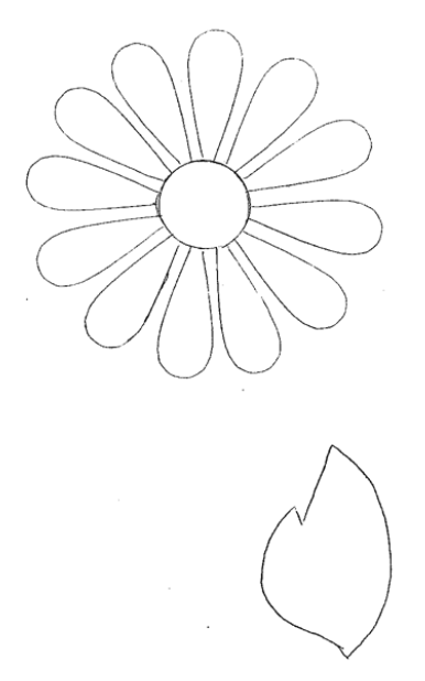 Simple Flower Patterns To Trace