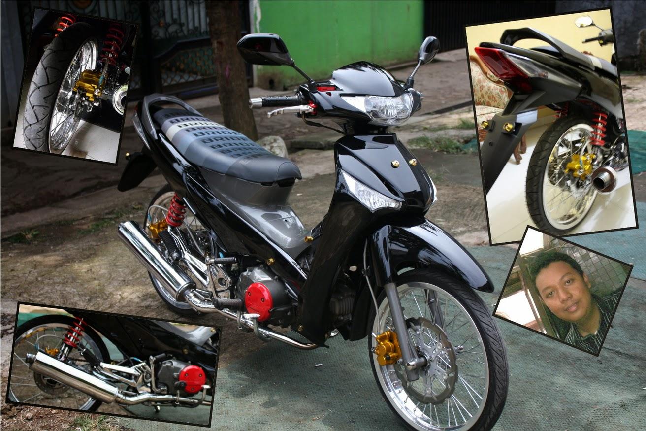 Modifikasi Supra X 125r Standar