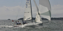 J/70 sailing New York YC USQS off Newport