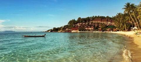 Koh Phangan, Sul Tailândia