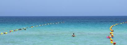 Sizilien - Das Meer bei Mondello