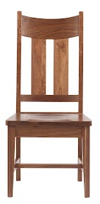 Solid Walnut Office Chairs