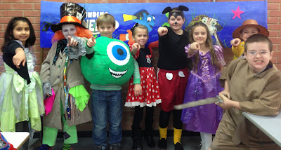 Cubs enjoy being dressed up at the Caper