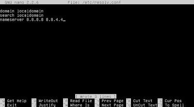 Configuración de la red, Dirección IP estática , DNS, Puerta de enlace
