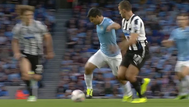 Aguero, Manchester City - Newcastle