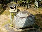 二重桝形手水鉢