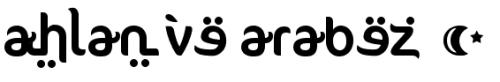 koleksi font arabic islami