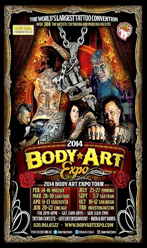 Body Art Expo San Diego   October 2014