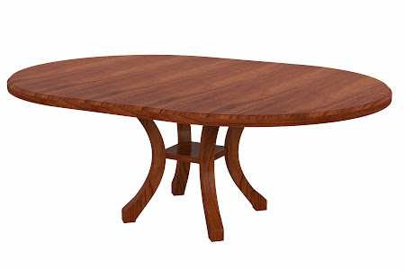 Montrose Conference Table in Cascadia Cherry