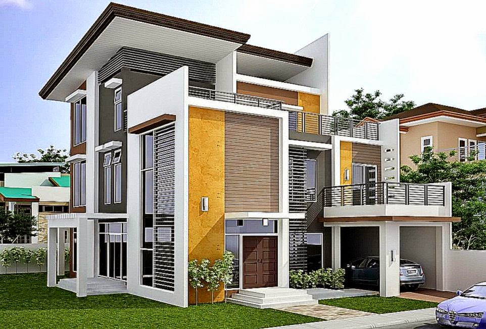 desain model rumah terbaru gallery taman minimalis