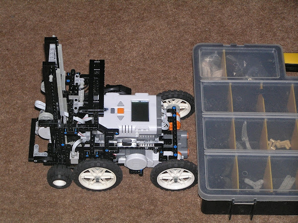 LEGO Mindstorms NXT Stair Climbing Robot