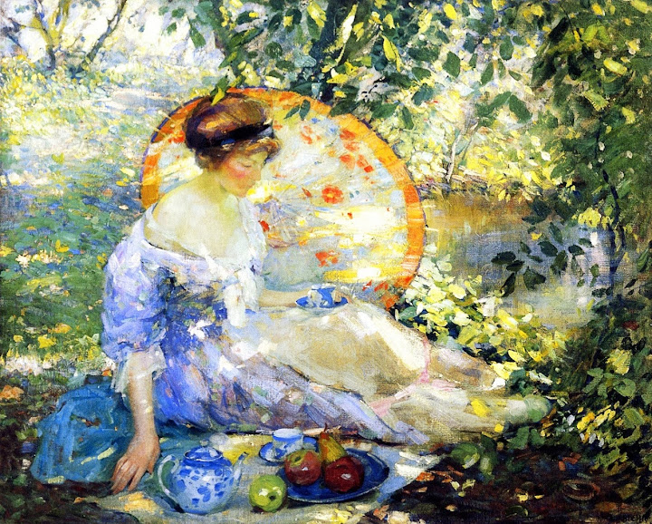 Karl Albert Buehr – Picnic on the Grass
