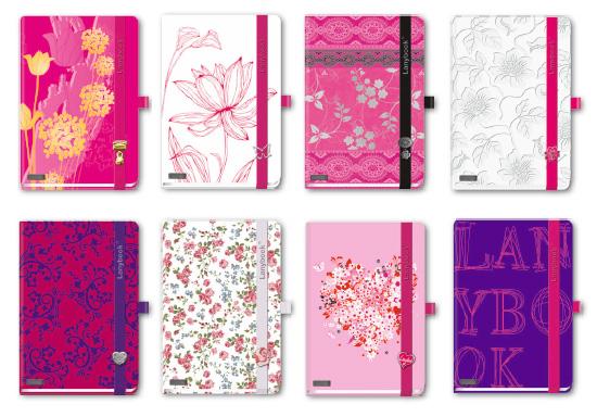 Lanybook rosa