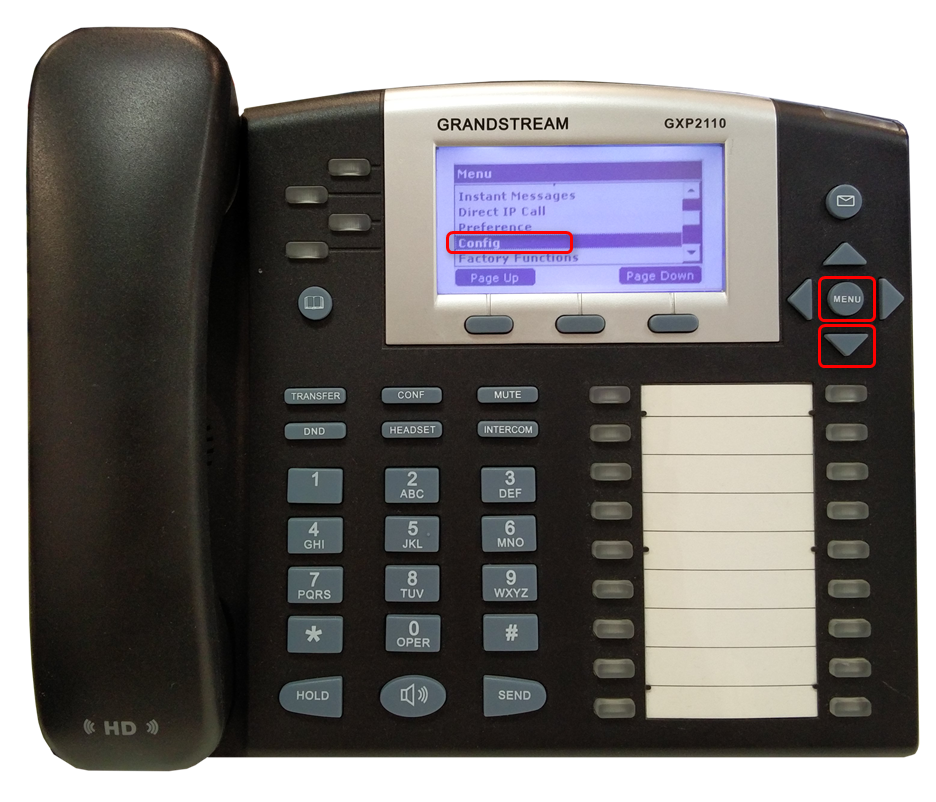 Manual gxp1165 grandstream telefone ip.