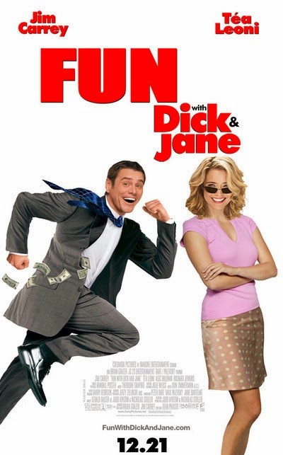 Poster Of Fun with Dick and Jane (2005) Full Movie Hindi Dubbed Free Download Watch Online At Alldownloads4u.Com