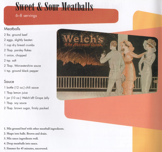 Sweet & Sour Meatballs | The Magic in Jelly ©2005