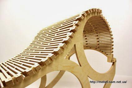Спинка фанерного кресла