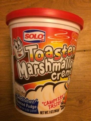 Tub of Toasted Marshmallow Creme