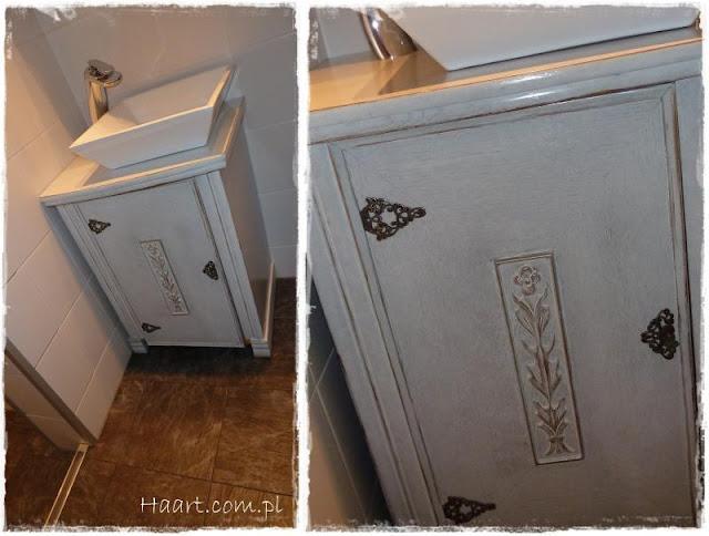 maszyna do szycia szafka pod umywalkę vintage - haart.pl blog diy zrób to sam 5