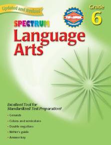 Spectrum Language Arts Series