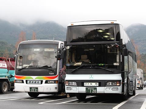 いわさきバスネットワーク「桜島号」 ・120 宮原SAにて その2