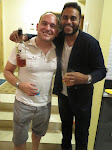 Me and Paras and a bottle that was full